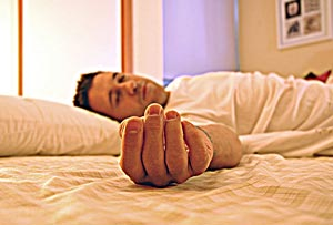 учитесь засыпать