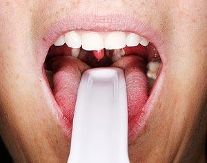 горло болит